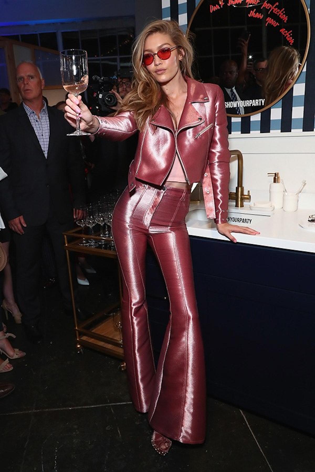 Gigi Hadid for Vogue Eyewear #ShowYourParty Event