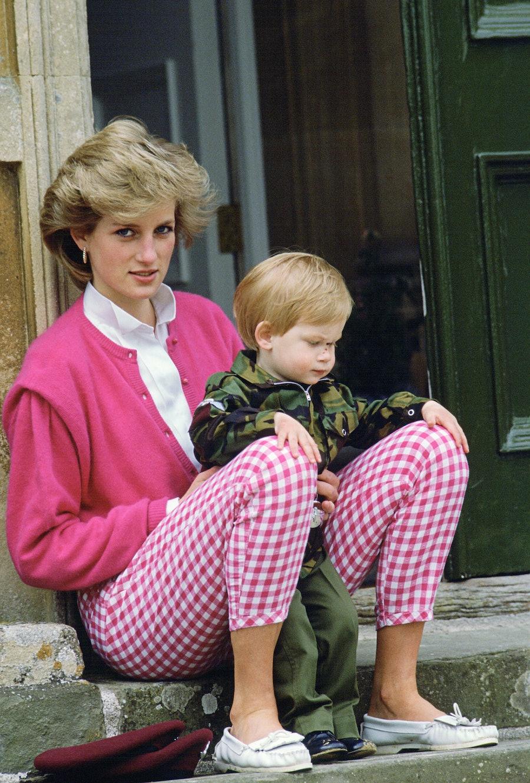 Diana And Harry Highgrove