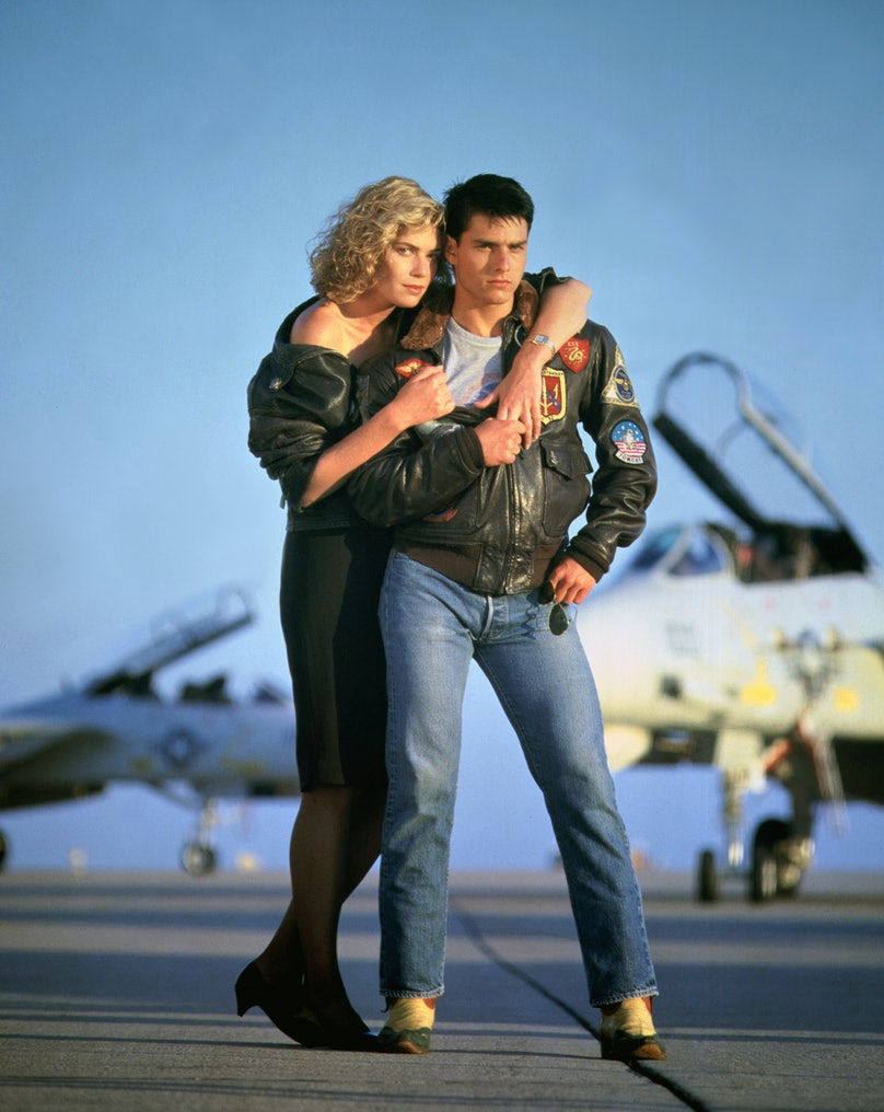 On the set of Top Gun
