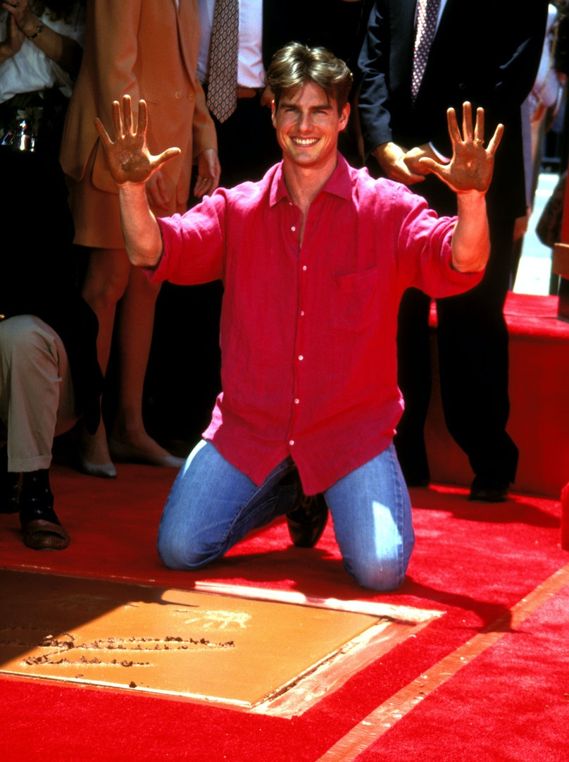 Tom Cruise Hand and Footprint Ceremony at Mann's Chinese Theatre