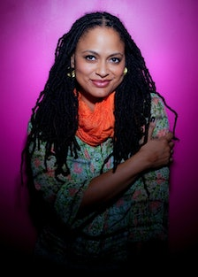 Ava DuVernay is photographed in Los Angeles at the Downtown Independent Theater.