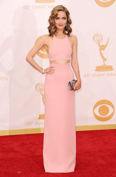 Rose Byrne Pink dress emmys