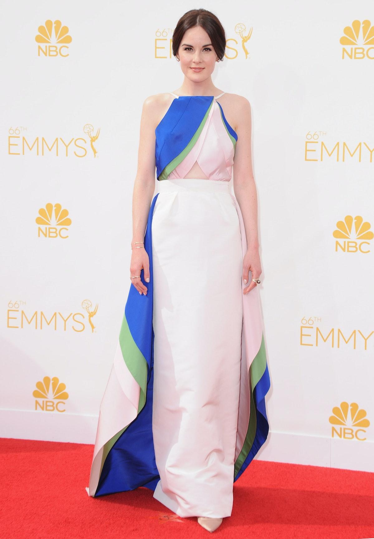 Michelle Dockery Emmys Dress