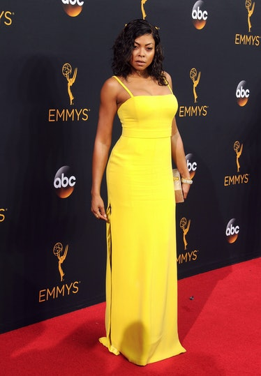 Taraji P. Henson yellow dress Emmys