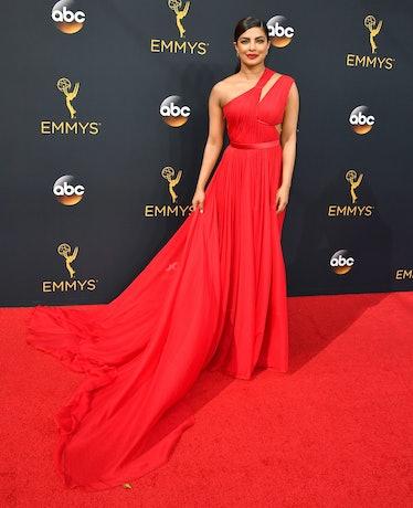 Priyanka Chopra red dress Emmys
