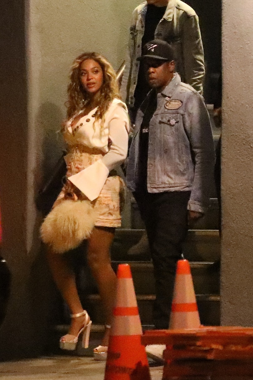 *PREMIUM-EXCLUSIVE* Beyonce and Jay Z out for a date night in Los Angeles, CA