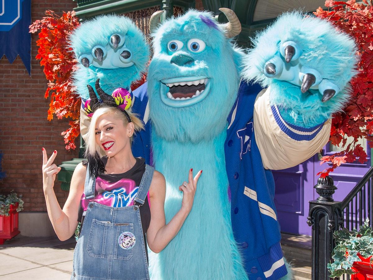 Gwen Stefani Celebrates Halloween Time (and her birthday!) At Disneyland Resort