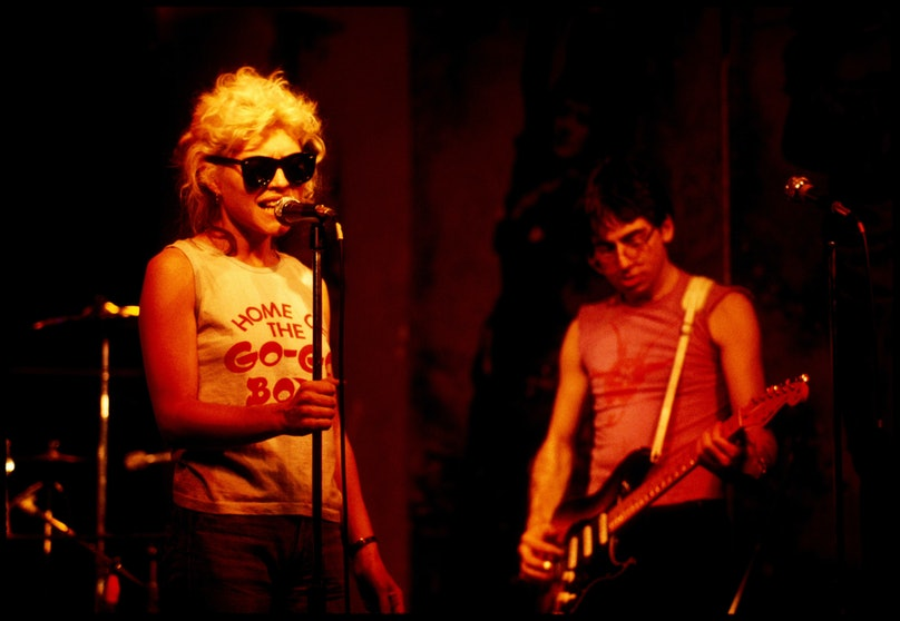 Photo of Debbie HARRY and Chris STEIN and BLONDIE