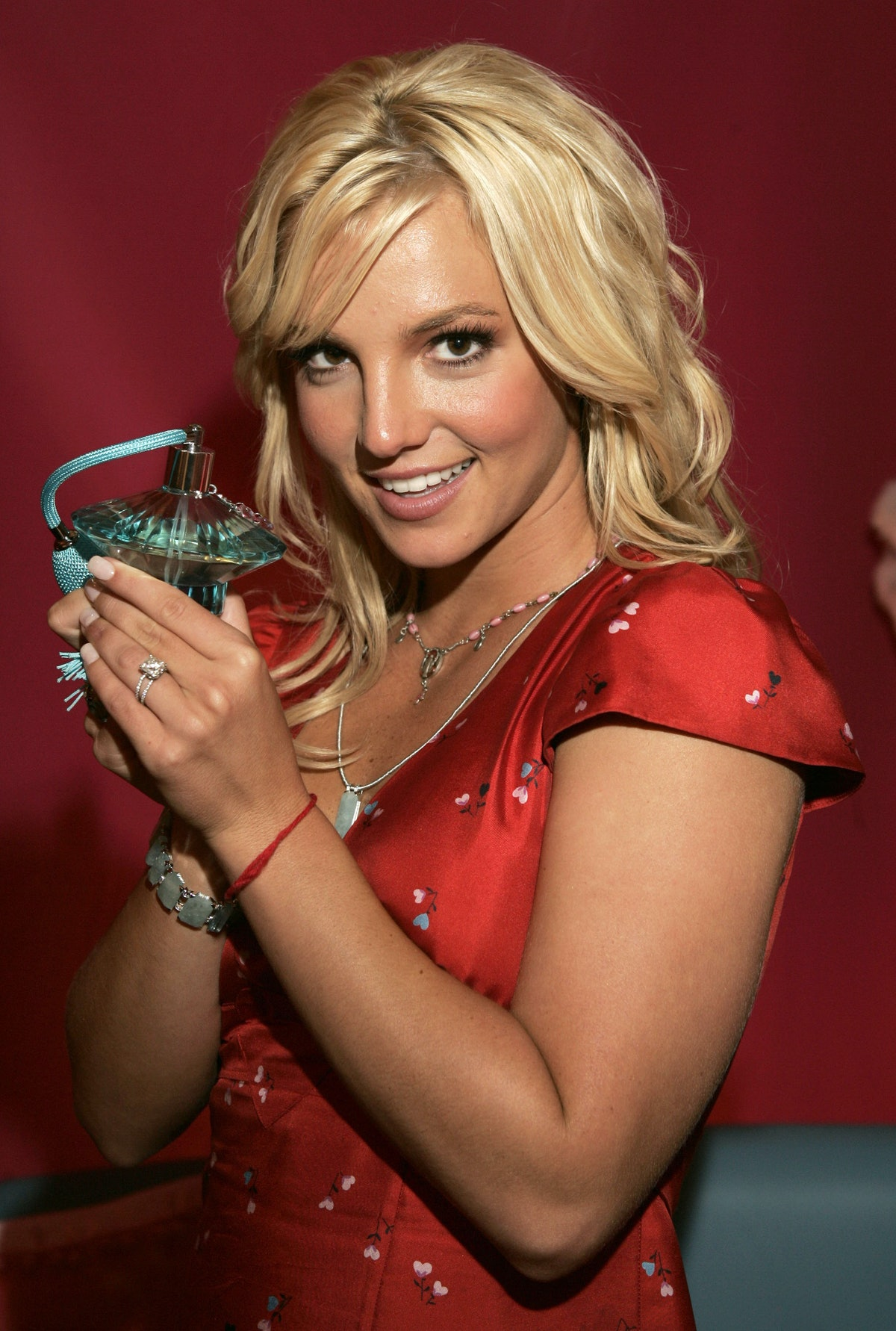 """Britney Spears Introducing Her New Fragrance """"Curious"""" at Macy's"""