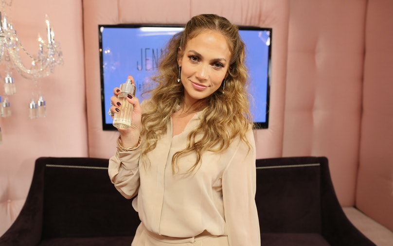 Glowing By JLo Launch Event