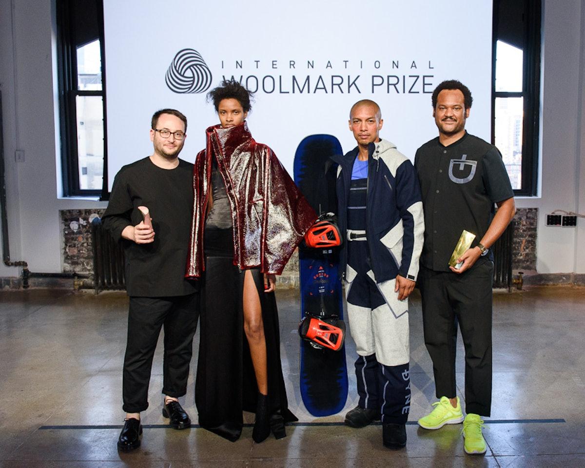 INTERNATIONAL WOOLMARK PRIZE : USA Regional Awards