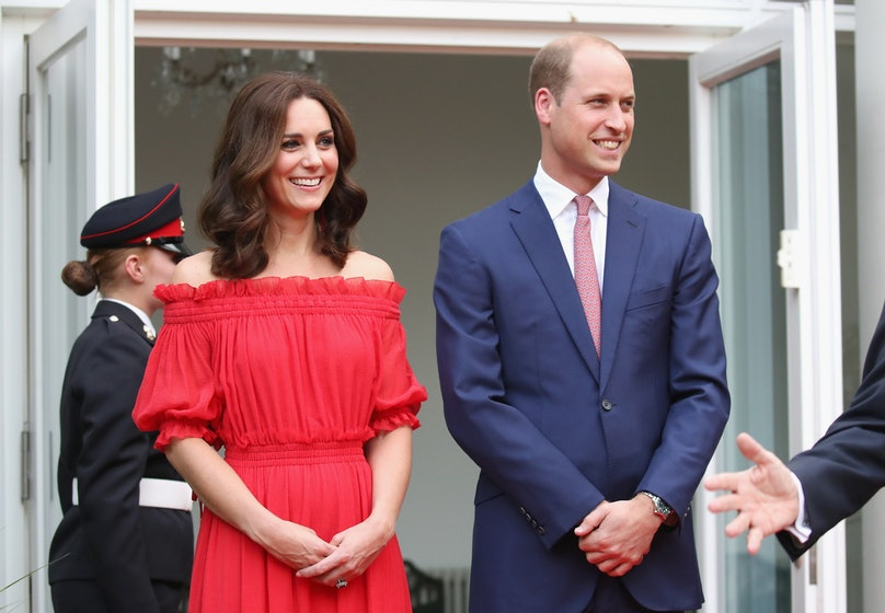 The Duke And Duchess Of Cambridge Visit Germany - Day 1
