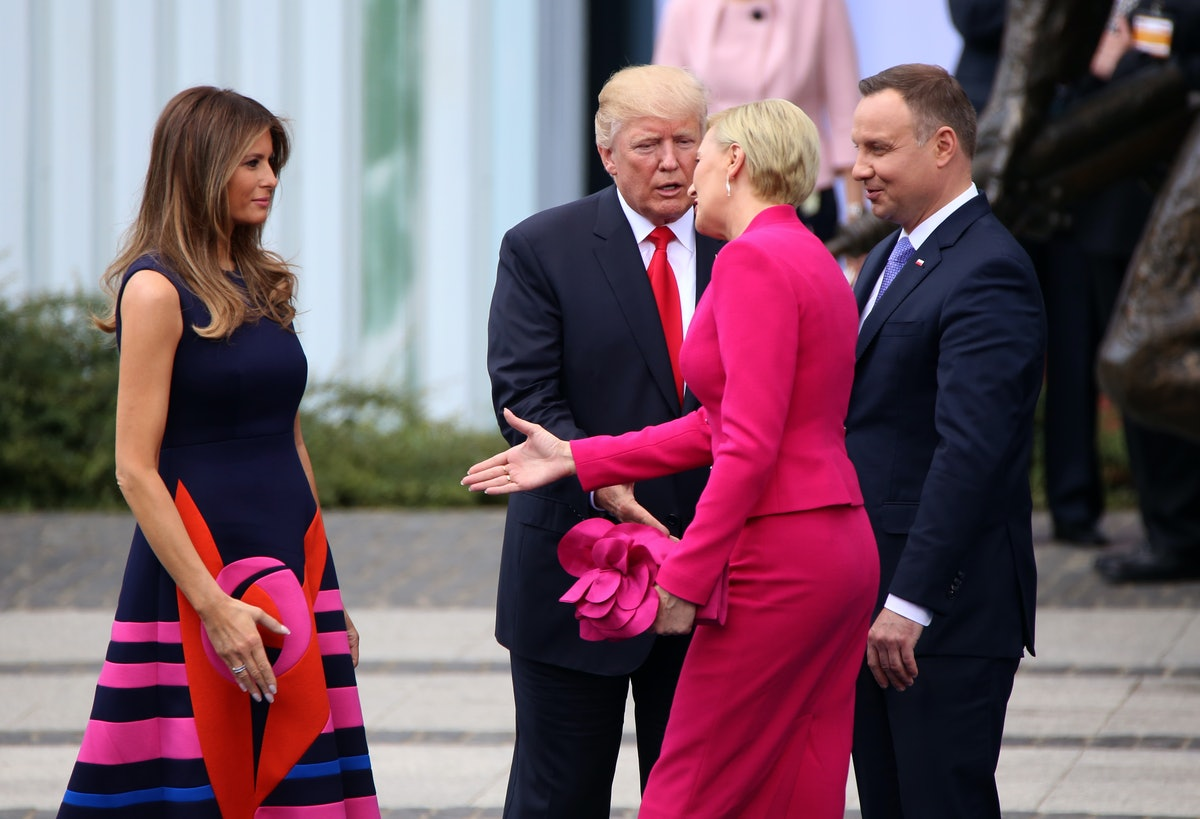 US President Donald Trump On Official Visit To Poland