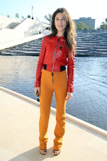 Louis Vuitton : Outside Arrivals - Paris Fashion Week Womenswear Spring/Summer 2015