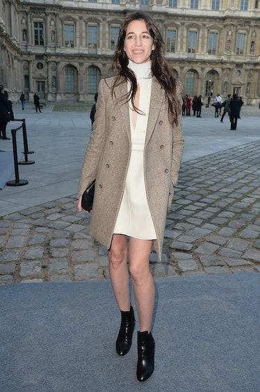 Louis Vuitton : Outside Arrivals - Paris Fashion Week Womenswear Fall/Winter 2014-2015