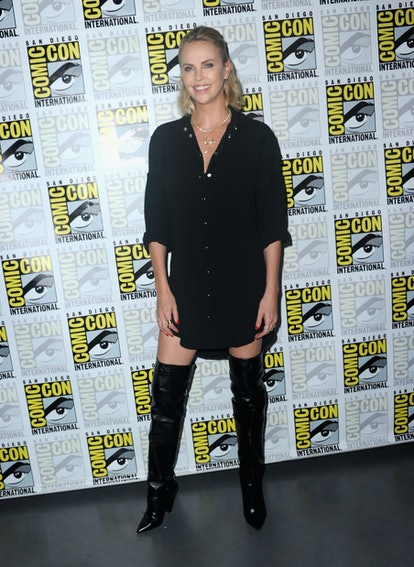 Comic-Con International 2017 - Entertainment Weekly's Women Who Kick Ass: Icon Edition With Charlize...
