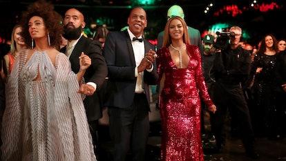 Jay Z, Beyonce, Solange