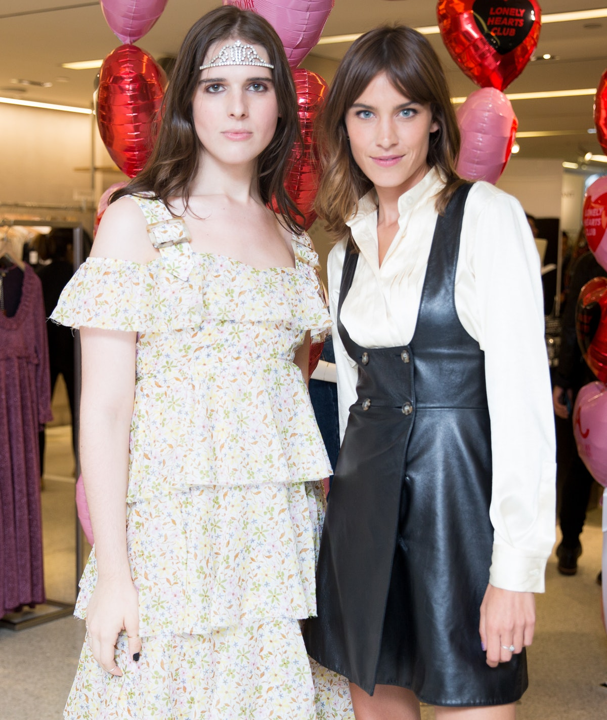 ALEXA CHUNG & Bergdorf Goodman Host : The Lonely Hearts Club Event, US Launch