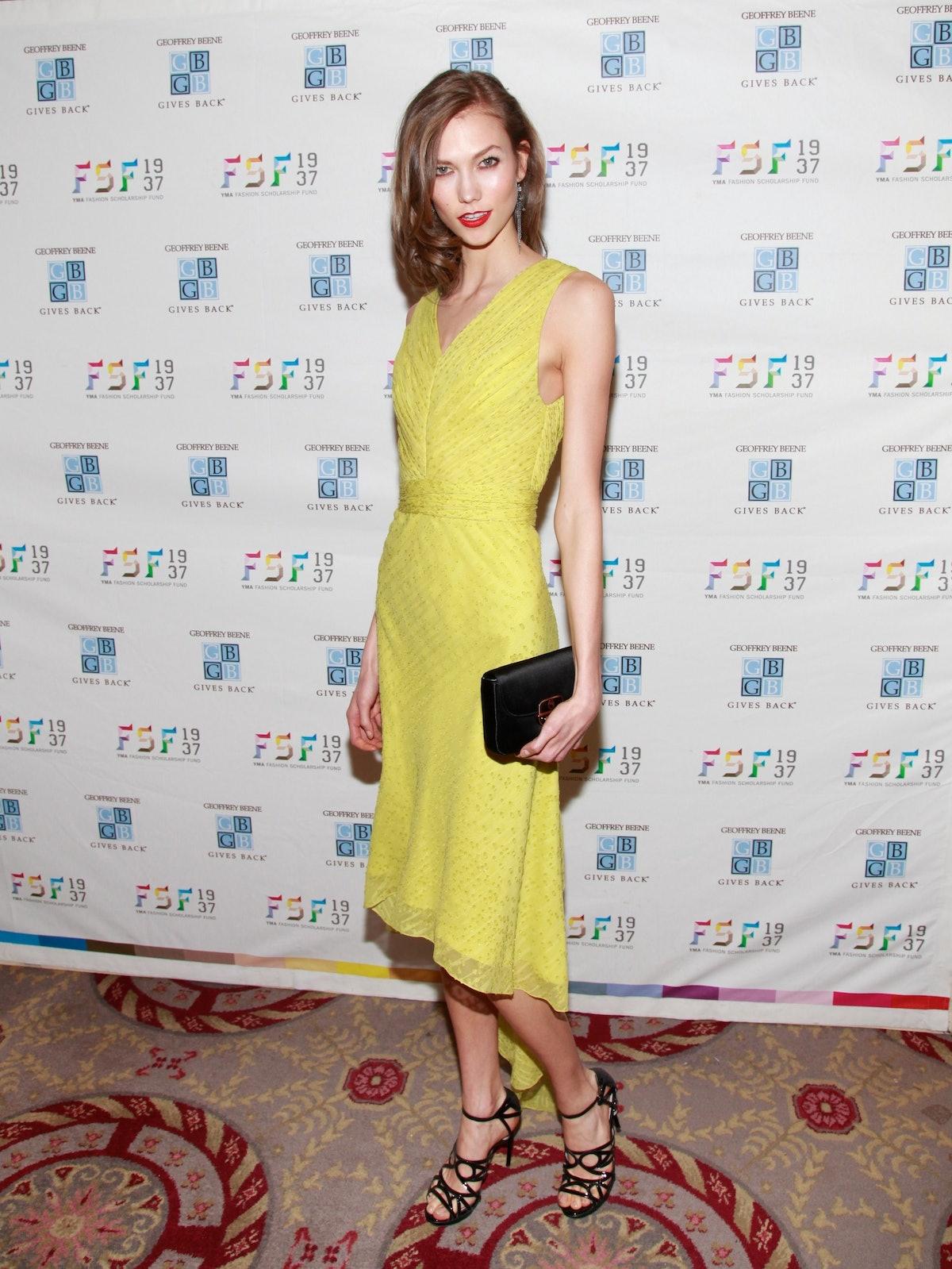 2012 YMA Fashion Scholarship Fund Geoffrey Beene National Scholarship Awards Dinner