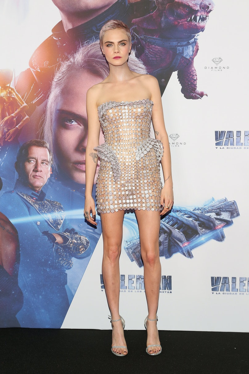 """""""Valerian And The City Of A Thousand Planets"""" Mexico City Premiere - Red Carpet"""