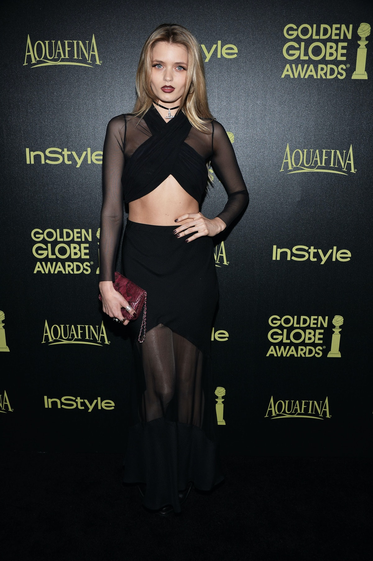 The Hollywood Foreign Press Association And InStyle Celebrate The 2015 Golden Globe Award Season