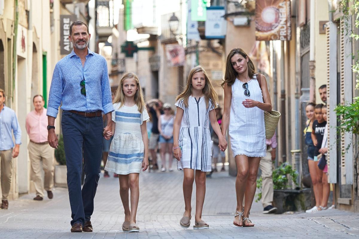 Spanish Royals Visit Can Prunera Museum In Soller - Palma de Mallorca