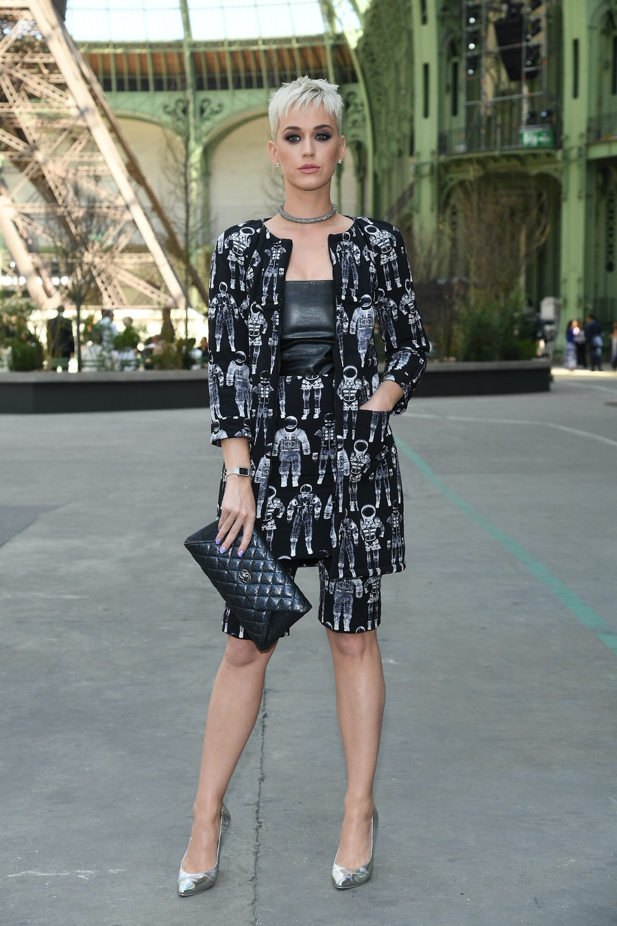 Chanel : Photo Call - Paris Fashion Week - Haute Couture Fall/Winter 2017-2018