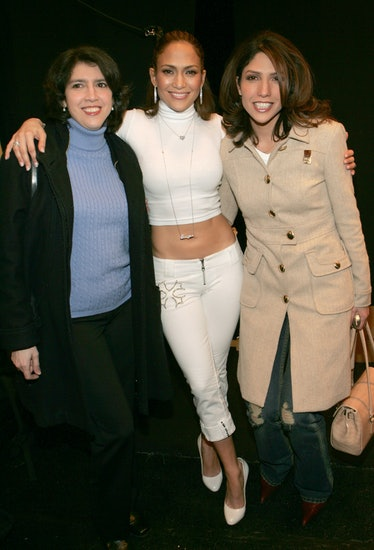 Olympus Fashion Week Fall 2005 - Sweetface by Jennifer Lopez and Andy Hilfiger - Backstage