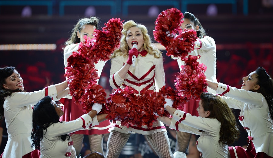 Madonna World Tour 2012 At American Airlines Arena