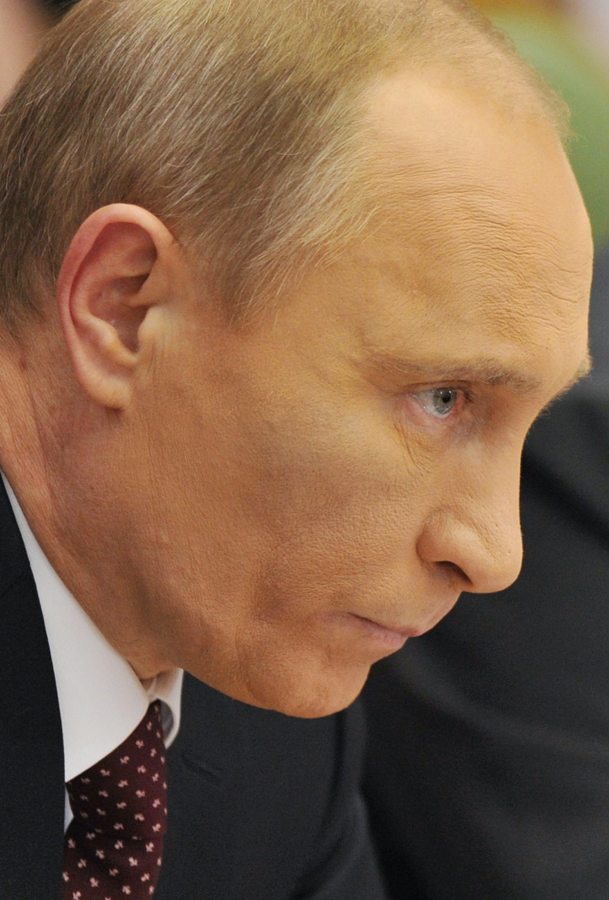 Russian Prime Minister Vladimir Putin li