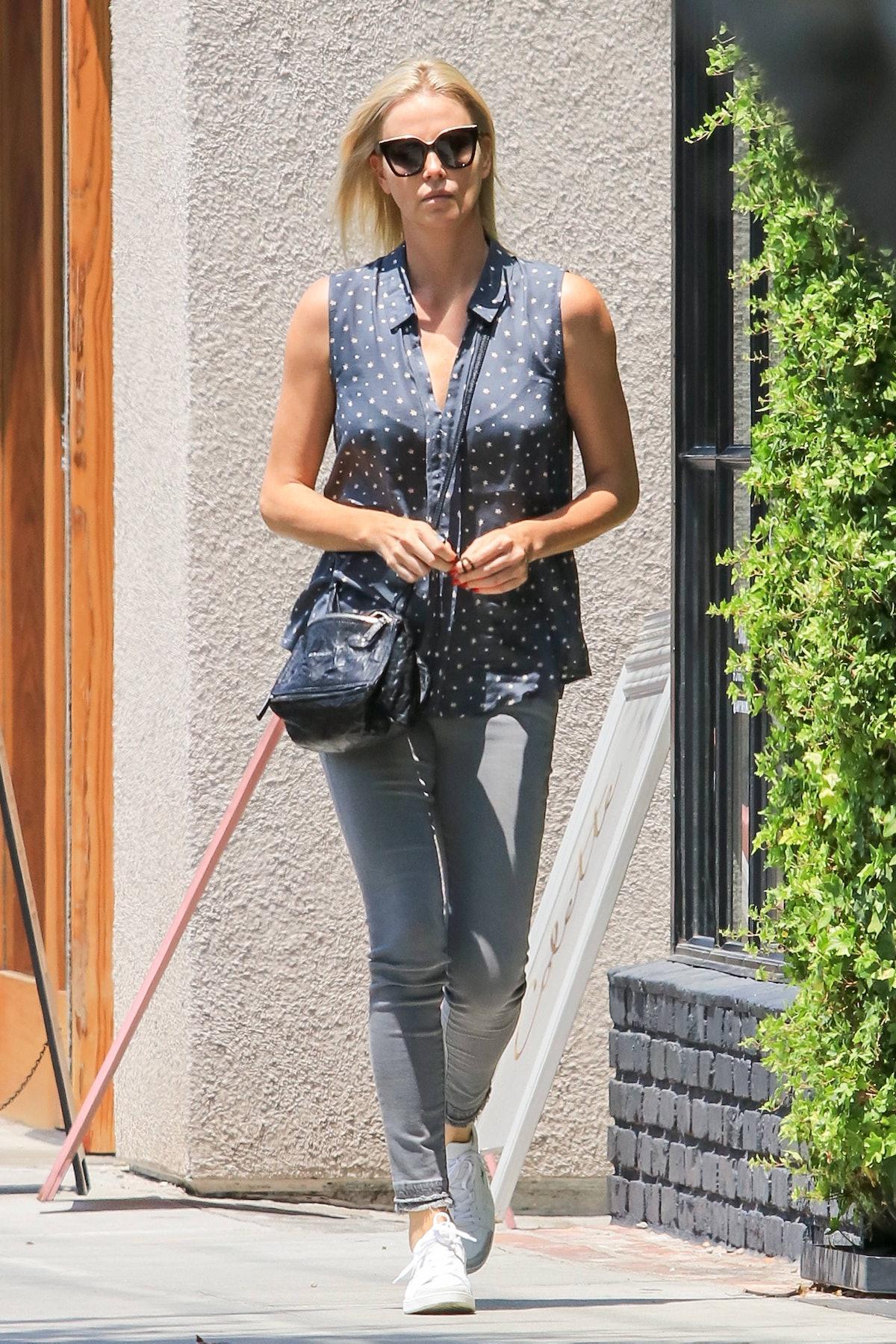 Celebrity Sightings In Los Angeles - July 13, 2017