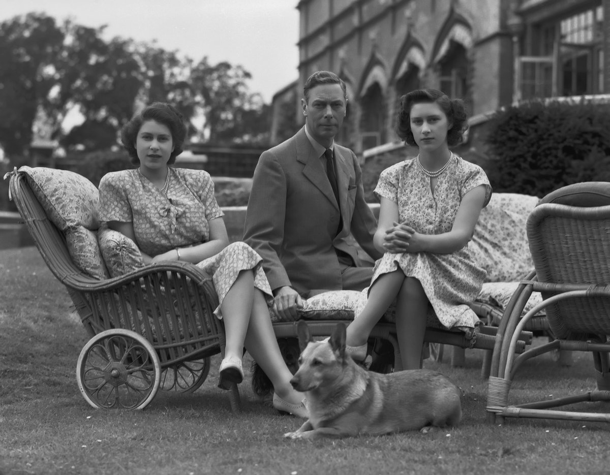 King George VI And Daughters At Windsor