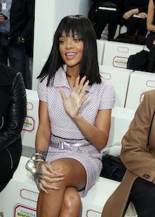 Chanel  : Front Row  - Paris Fashion Week Womenswear Fall/Winter 2014-2015