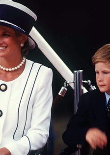 Diana Harry At Vj Day