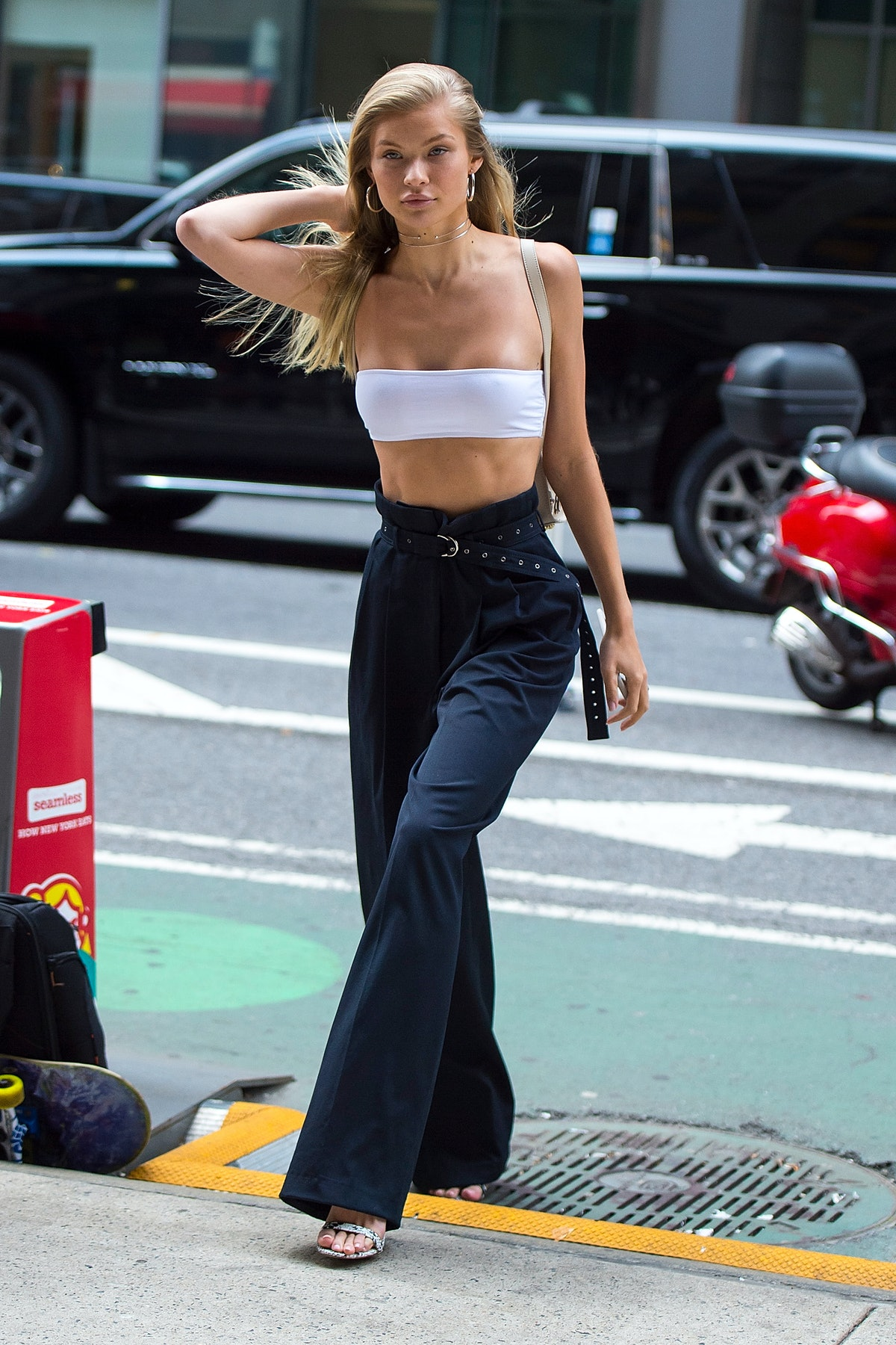 Celebrity Sightings in New York City - August 21, 2017