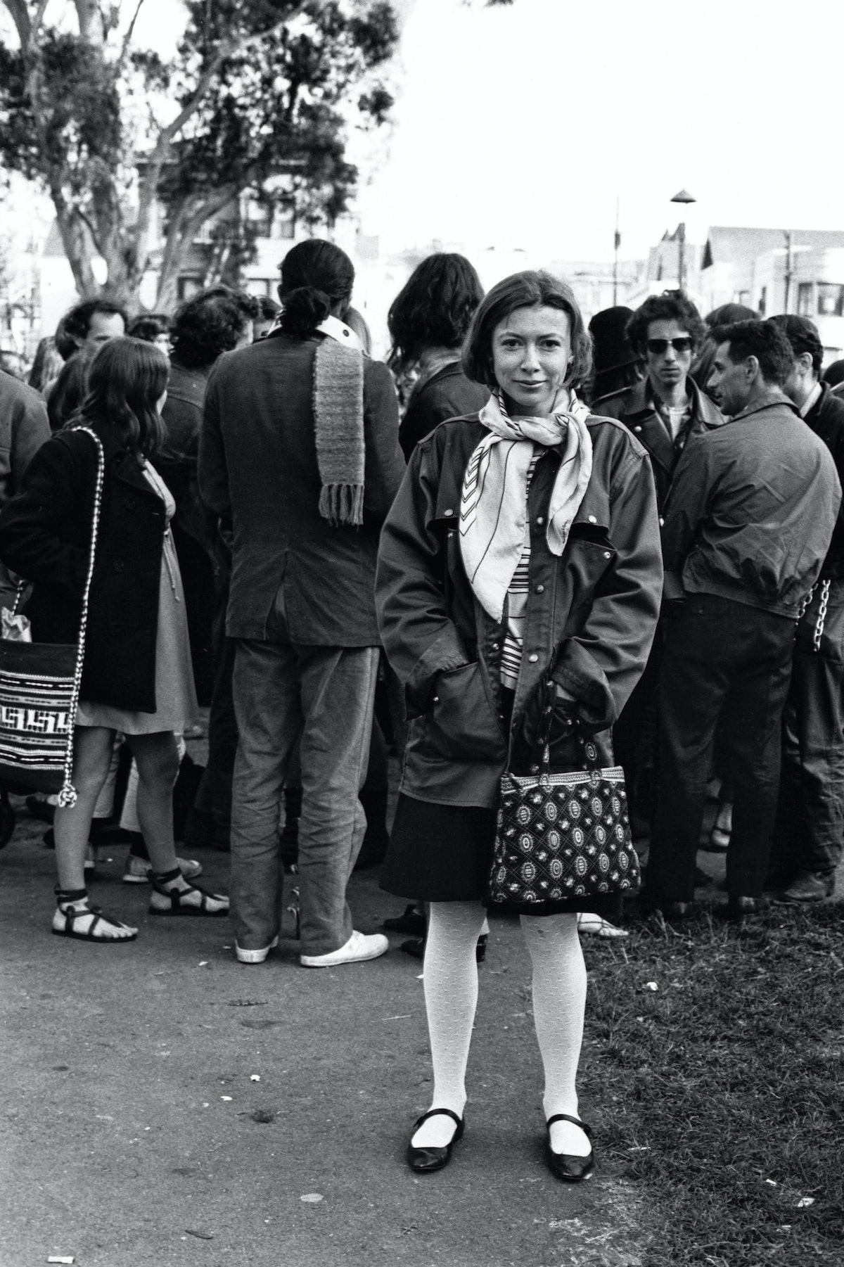 Portrait of Joan Didion