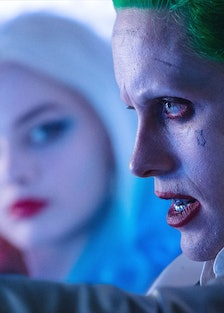 SUICIDE SQUAD, from left: Margot Robbie, Jared Leto, 2016. ph: Clay Enos / © Warner Bros. /Courtesy