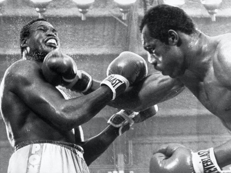 Larry Holmes and Ken Norton