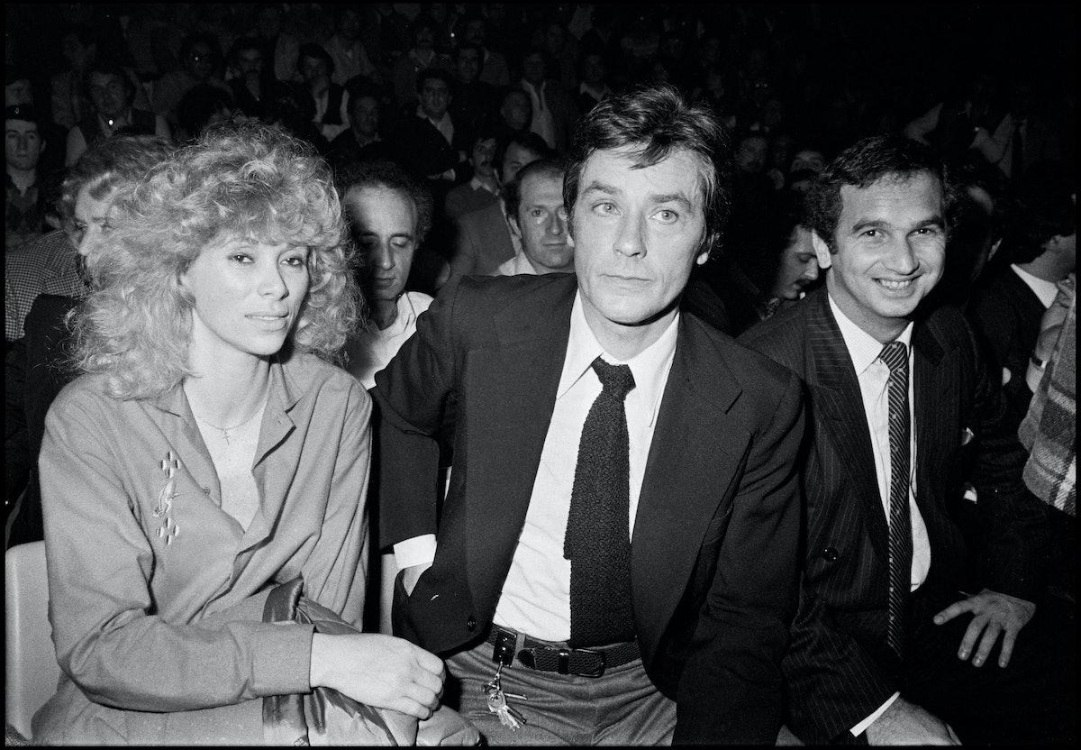Alain Delon And Jean-Paul Belmondo In 1981