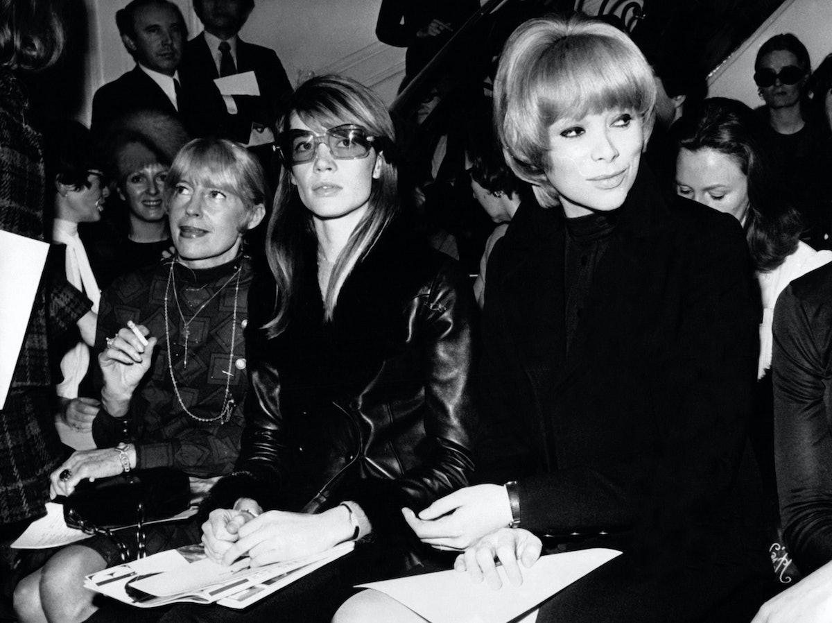 D?fil? De Yves Saint-Laurent 1969