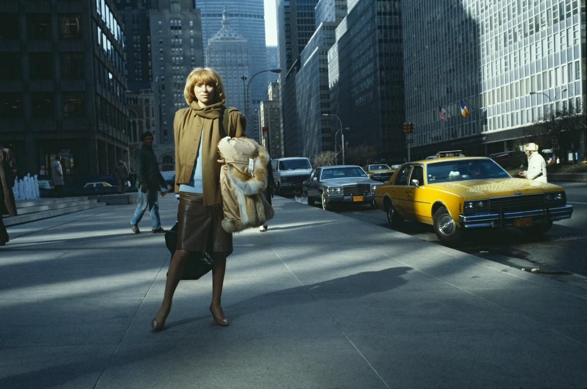 Mireille Darc in New York