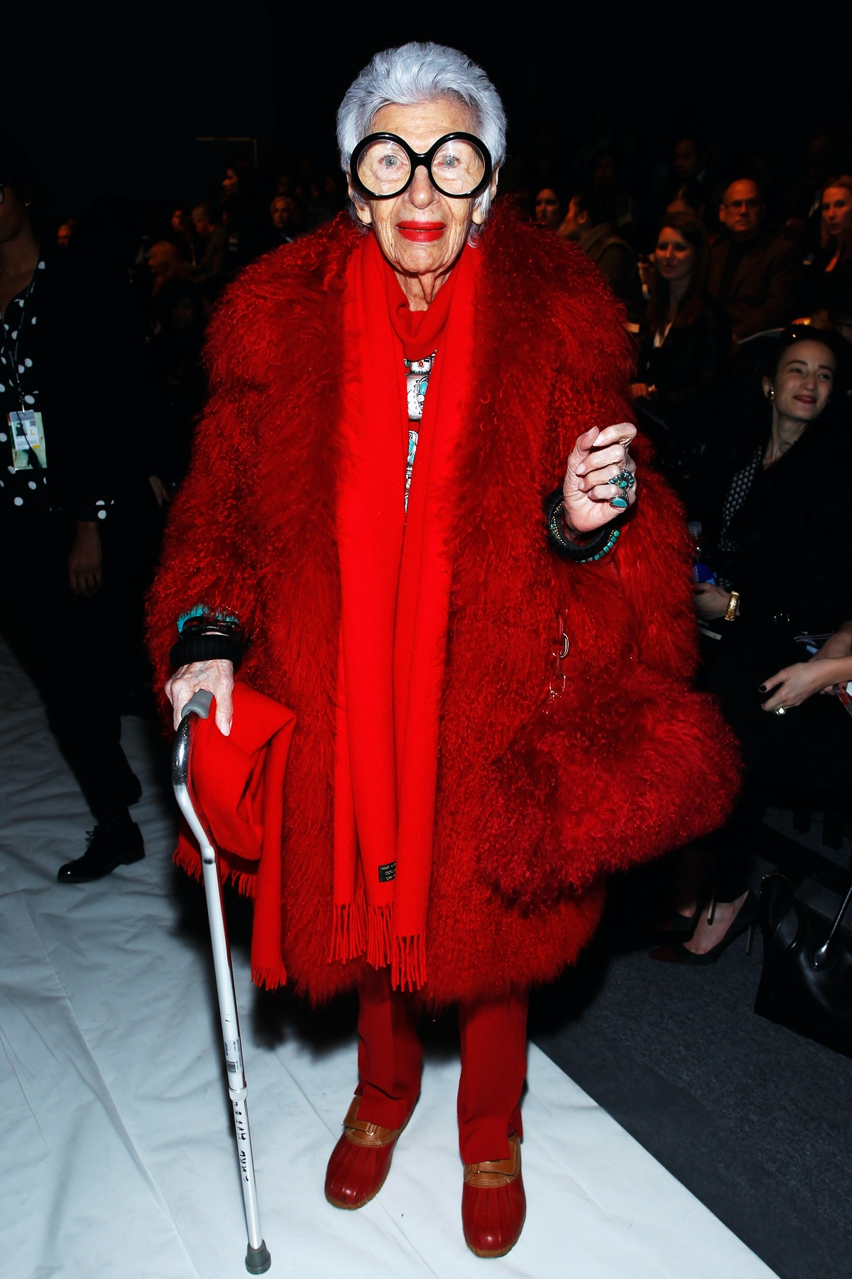 Joanna Mastroianni - Front Row - Fall 2013 Mercedes-Benz Fashion Week