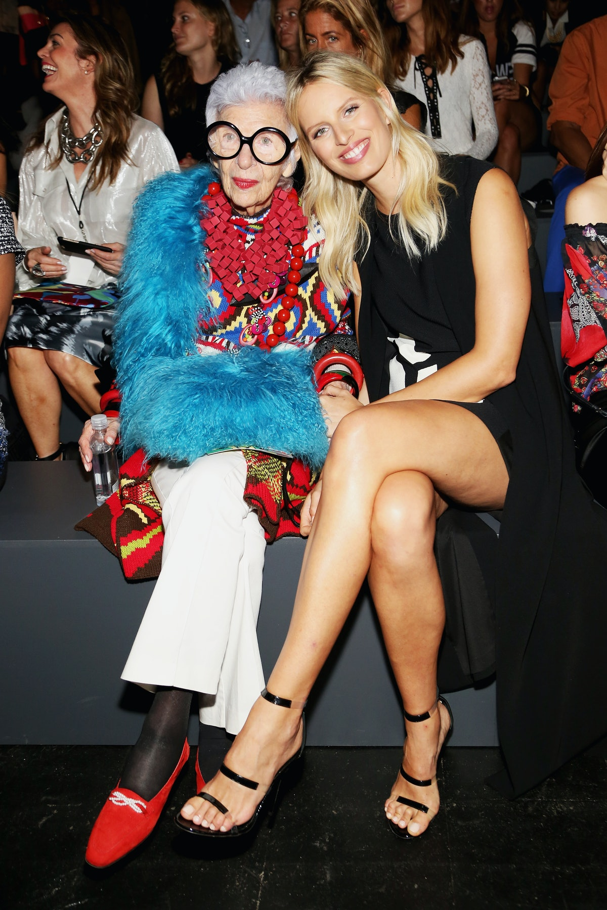 Desigual - Front Row - Spring 2016 New York Fashion Week: The Shows