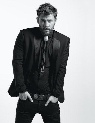 Chris Hemsworth - Royals - October 2017