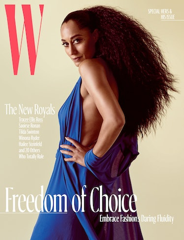 Tracee Ellis Ross - Royals - October Cover