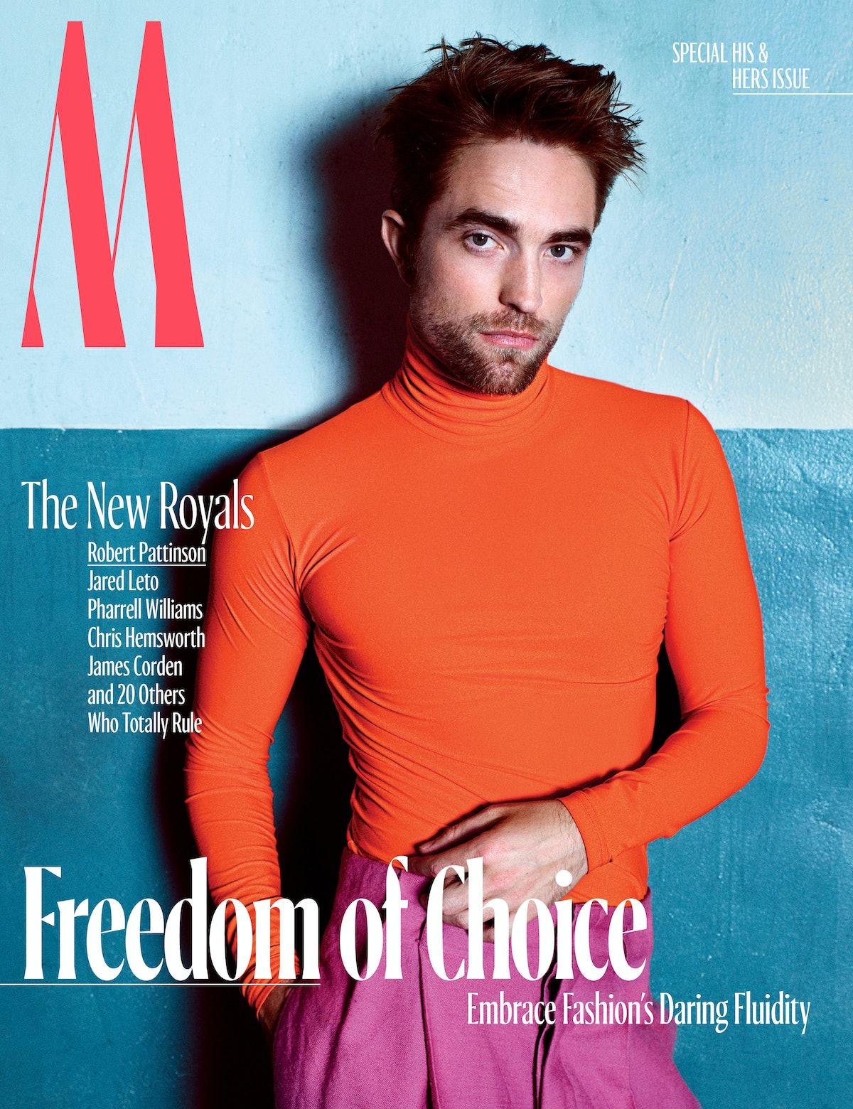 Robert Pattinson - Royals - October Cover