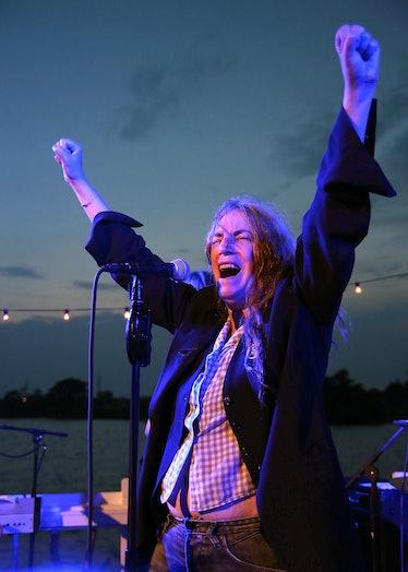 Patti Smith Acoustic Performance