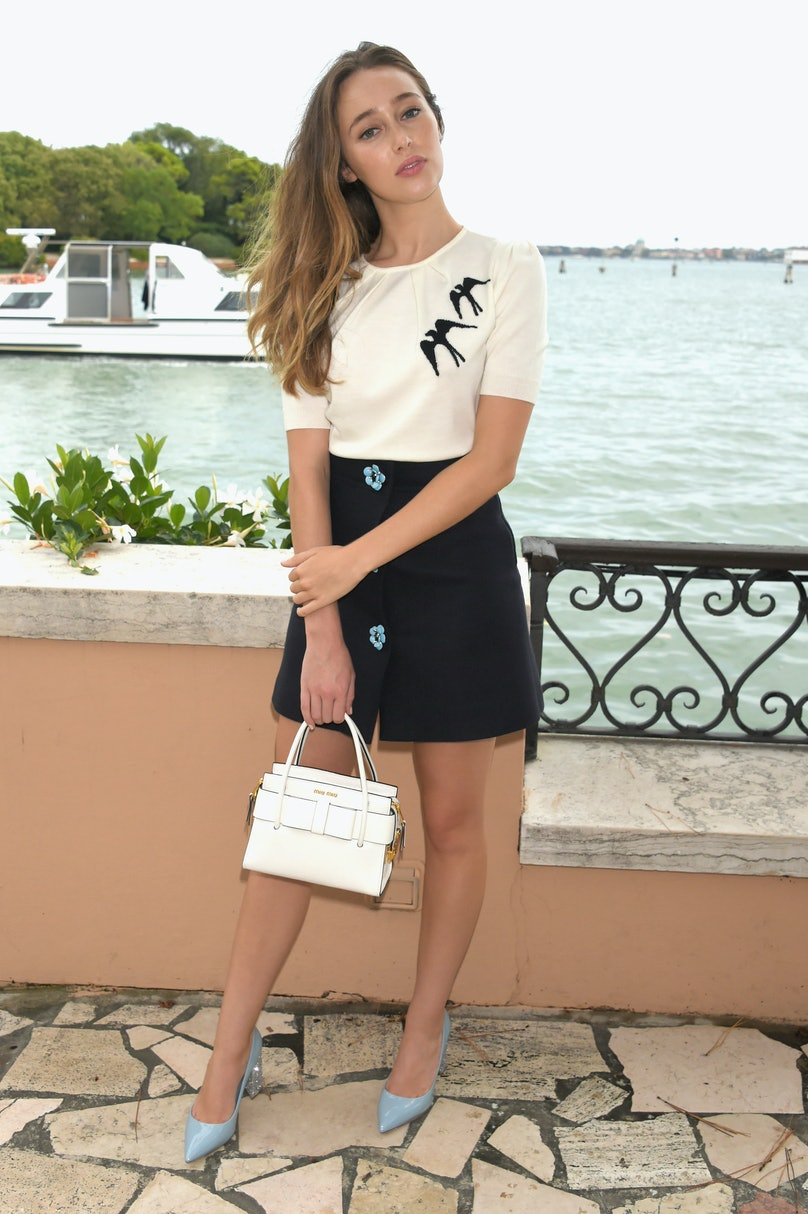 Livia Firth, Carlo Capasa And Caroline Scheufele Host An Intimate Lunch During The 74th Venice Film Festival