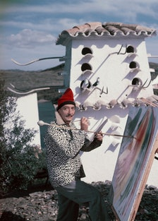 Salvador Dali In Figueres, Spain -