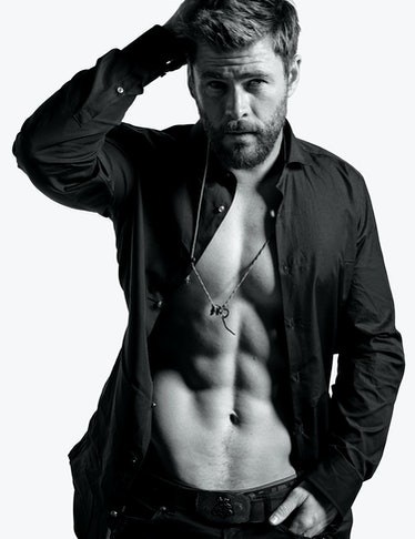 October Cover Image  - Chris Hemsworth